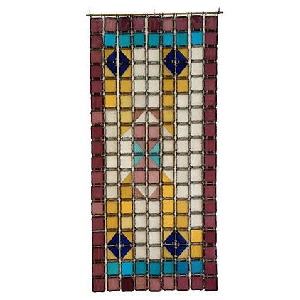 Antique French Stained Glass Window Panel - Image 1 of 6