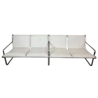 Hannah & Morrison Four-Seat Airport Sling Sofa