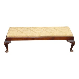 Antique French Provincial Gold Footstool Bench