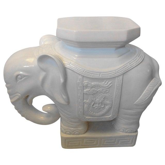 Lilly Pulitzer Elephant Garden Stool - Image 1 of 4