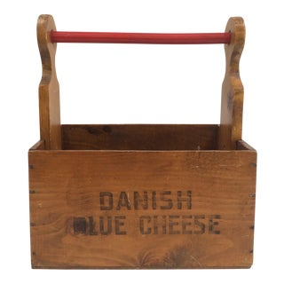 Vintage Denmark Cheese Crate
