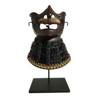 Japanese Taisho Period Samurai Face Mask, Menpo