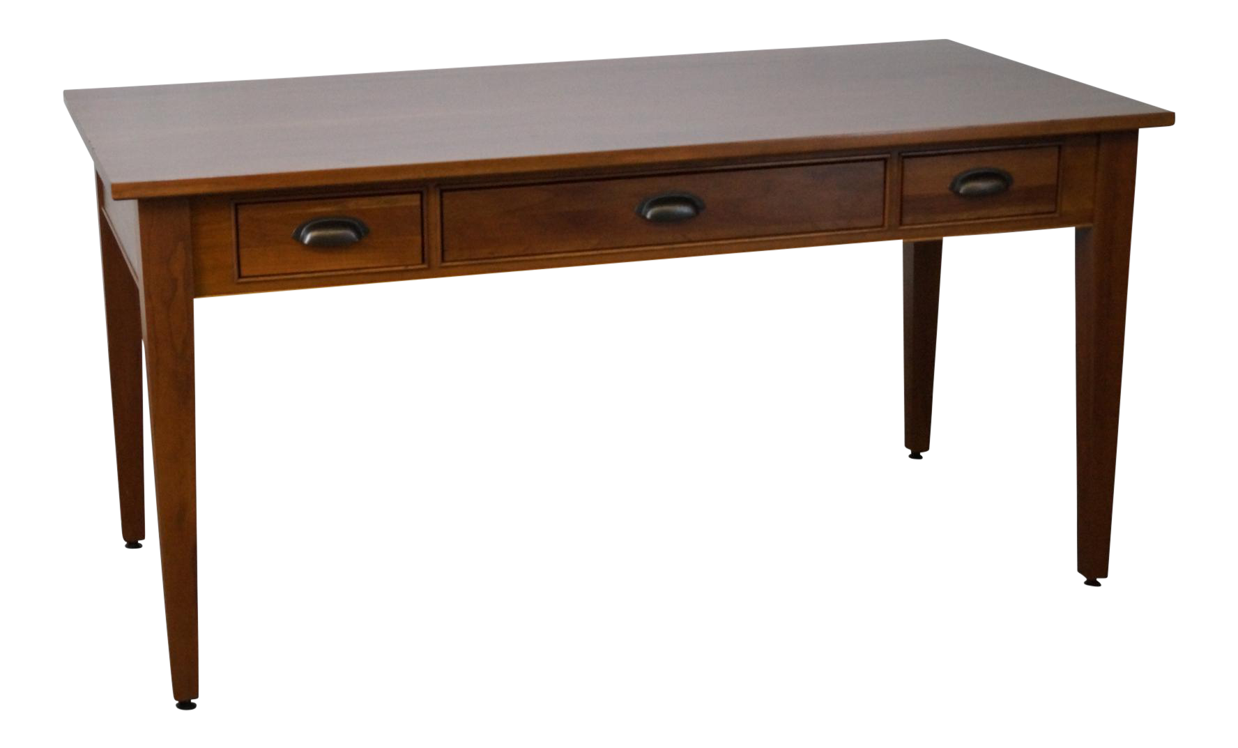 Restoration Hardware Solid Cherry Writing Desk By Michaels. Small Cherry Computer Desk. Simple Dining Table. Round Coffee Table With Stools. Treadmill Desks. Desk Organiser. Fusion Pool Table. Soft Drawer Closers. Vintage Roll Top Desk
