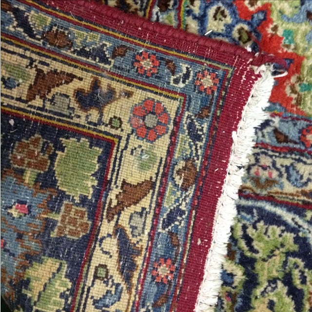 Large Traditional Persian Rug - 12′4″ × 9′6″ - Image 8 of 11