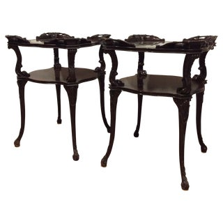 Chippendale Side Tables - A Pair