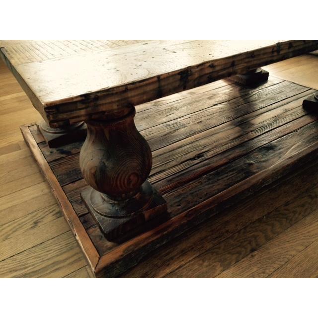 Arhaus Wooden Coffee Table - Image 3 of 9
