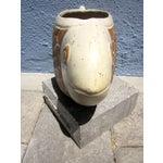 Image of David Stewart California Pottery Fish Vase/Pot