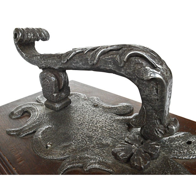 French Rococo Hand Wrought Door Knocker - Image 2 of 5