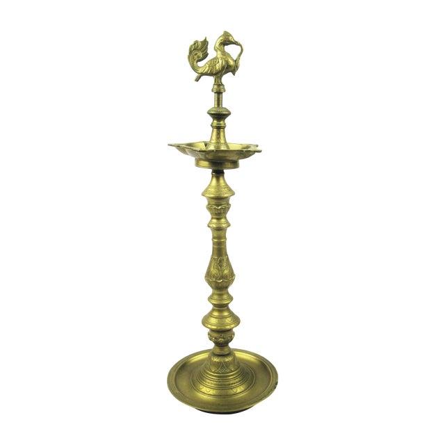 Brass Pedestal Ash Tray - Image 1 of 7