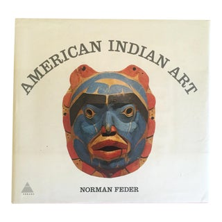 "Vintage 1965 1st Edtn ""American Indian Art"" Cultural Arts Hardcover Book"