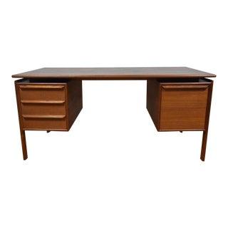 Danish Modern G.V. Gasvig Teak Desk