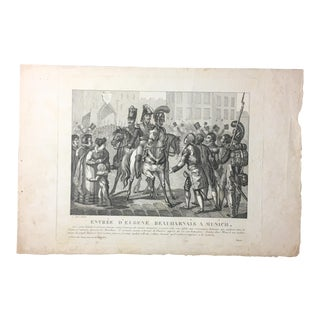 19th C. French Engraving