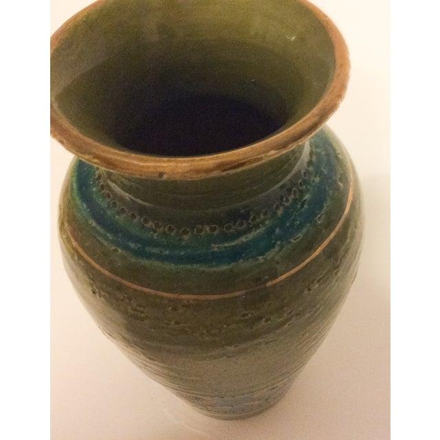 Mid Century 1960's Bitossi Ceramic Vase - Image 6 of 6