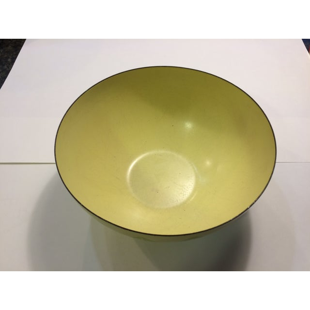 Cathrineholm Green And Yellow Lotus Bowl - Image 3 of 7