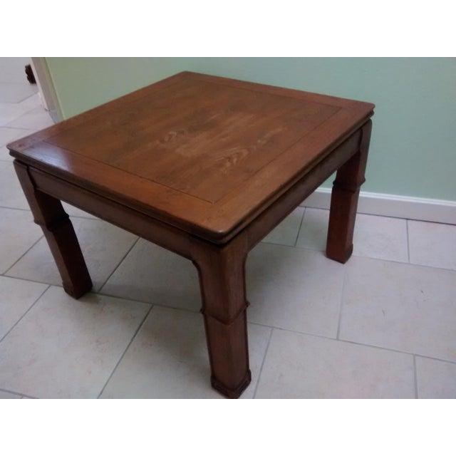 Nash Solid Wood Square Coffee Table Chairish