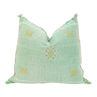 Moroccan Sabra Cactus Silk Pillow Cover