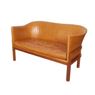 Mogens Koch Model 52 Leather Sofa