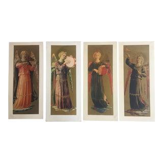Vintage Angel Lithographs - Set of 4