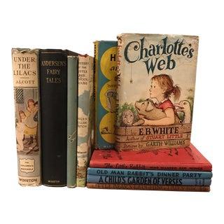 Vintage Children's Books- Set of 10