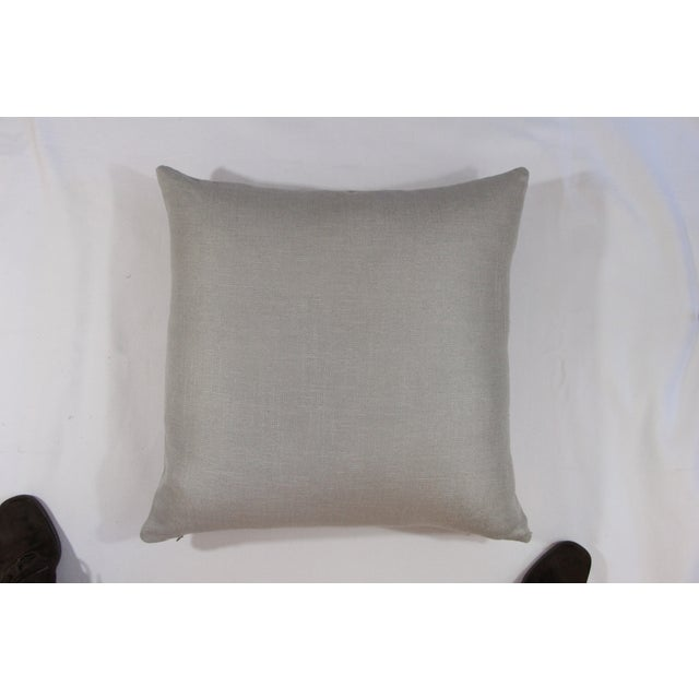 Image of Silver Linen Pillow