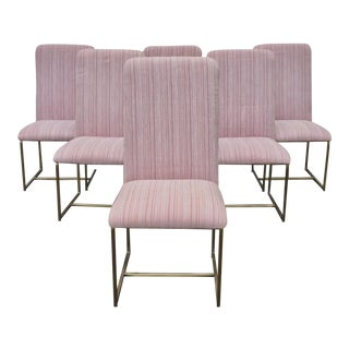 Vintage Modern Dining Chairs by Dia - Set of 6