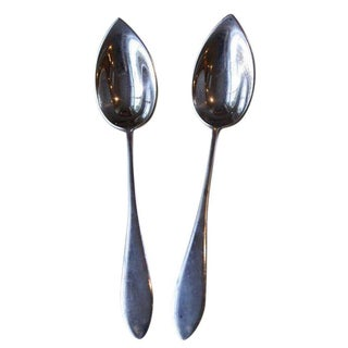 Gorham Sterling Fruit Spoons - A Pair