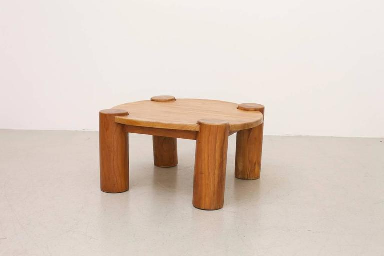 Heavy Solid Wood Coffee Table   Image 2 Of 5
