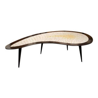 Biomorphic Mid-Century Modern Mosaic Tile Coffee Table, 1960