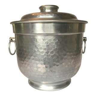 Italian Hammered Ice Bucket