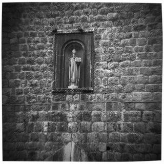 """Dubrovnik Wall"" Black & White Photograph"