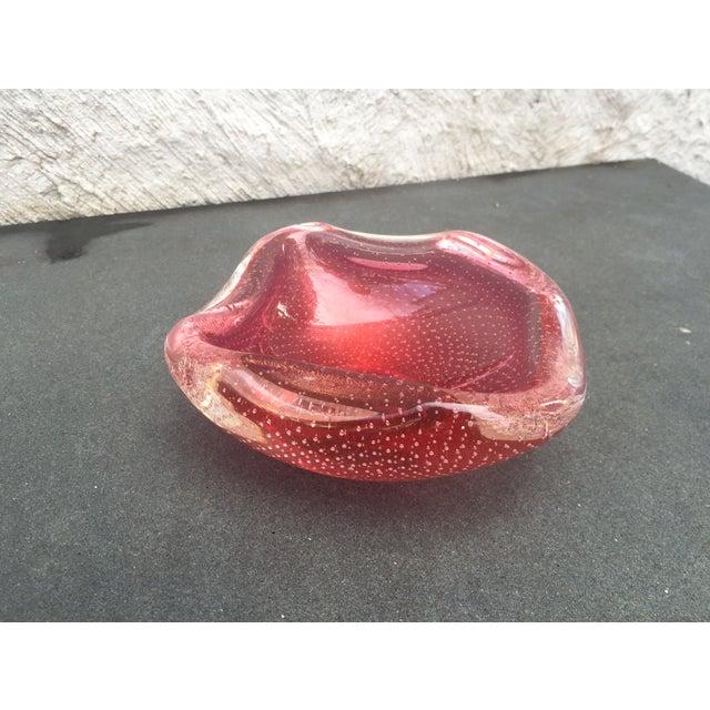 Archimede Seguso Glass Bowl Murano - Image 2 of 9