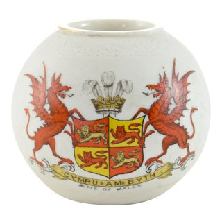 1920s Wales Red Dragon Match Striker