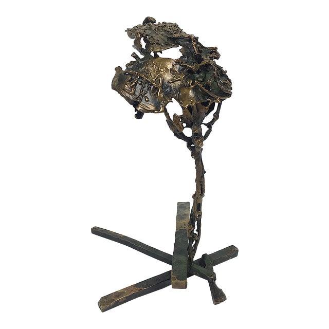Ben Kupferman Bronze Abstract Sculpture - Image 1 of 5