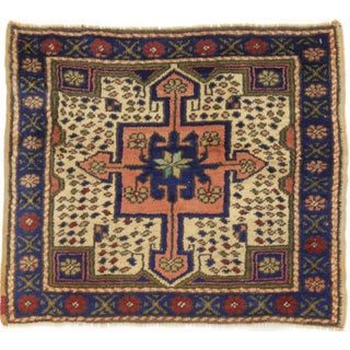 Vintage Turkish  Yastik Rug - 1′10″ × 2′3″