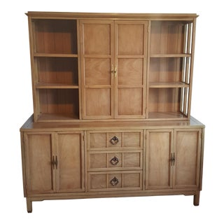 Gershun for American of Martinsville 2-Piece Hutch
