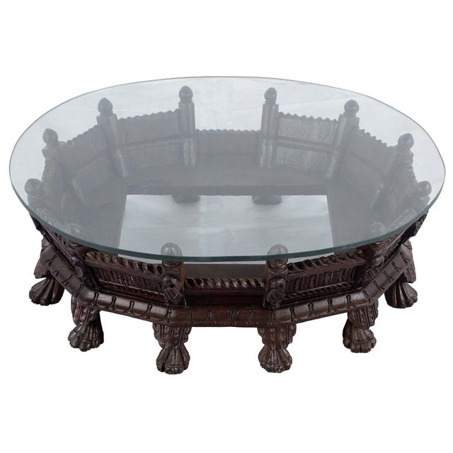 Handmade Low Profile Oval Coffee Table Chairish