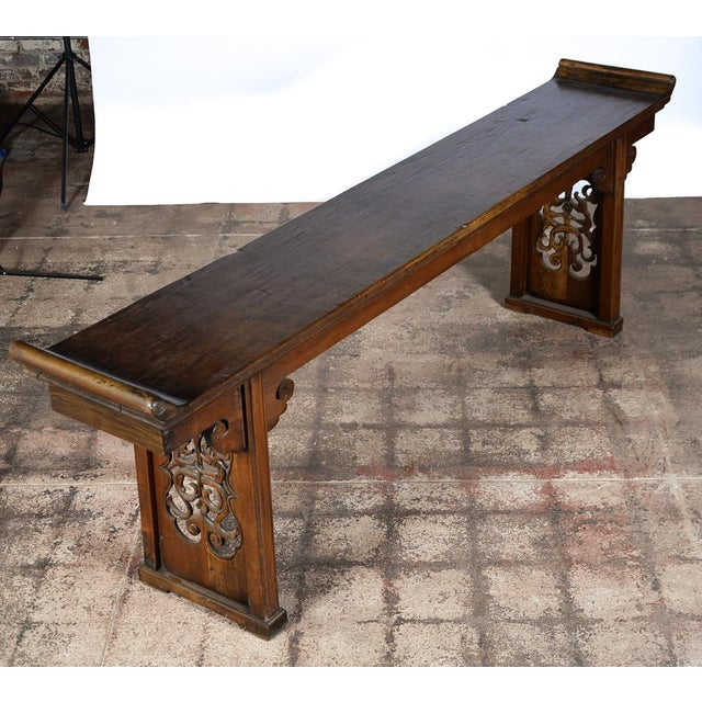 Chinese 19th century hardwood altar table chairish for Table th width ignored