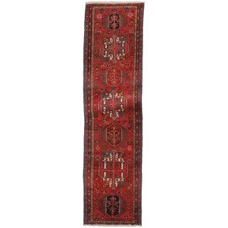 "Antique Persian Hariz Wool Runner - 2'10"" x 10'8"""