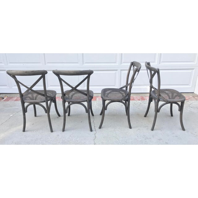 Restoration Hardware Madeleine Side Chairs - Set of 4 - Image 3 of 6