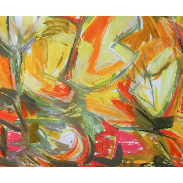 "Image of ""Chinese New Year 3"" Abstract Oil by Trixie Pitts"