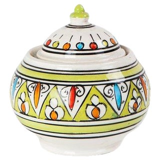 Lime Triangle Sugar Bowl
