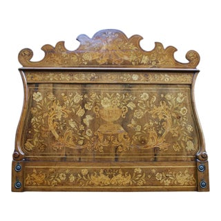 1690 French Thomas Hache Marquetry Children's Bed