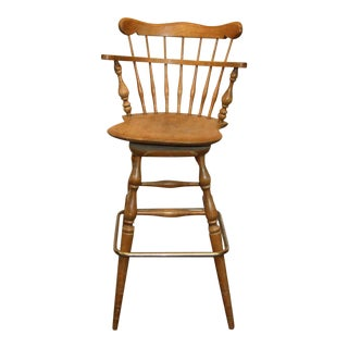 Windsor Back Bar Stool