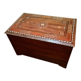 Moroccan Inlaid Chest
