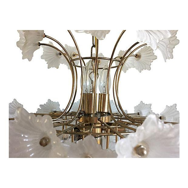 Flower Blossoms Chandelier - Image 5 of 9