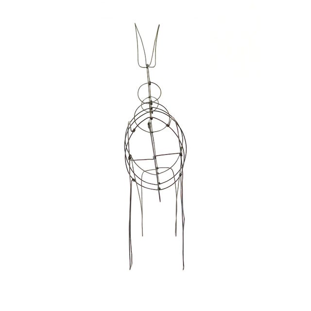 Wire Donkey Sculpture - Image 5 of 5