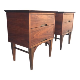 Mid-Century Vega Nightstands - A Pair