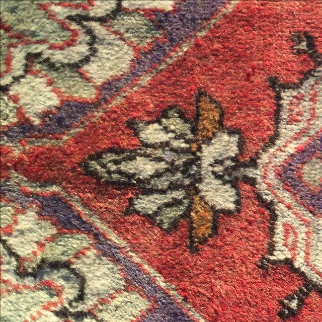 Anatolian Persian Rug - 1′7″ × 2′11″ - Image 7 of 9