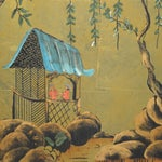 Image of Katherine Henick Asian-Style Paintings - A Pair