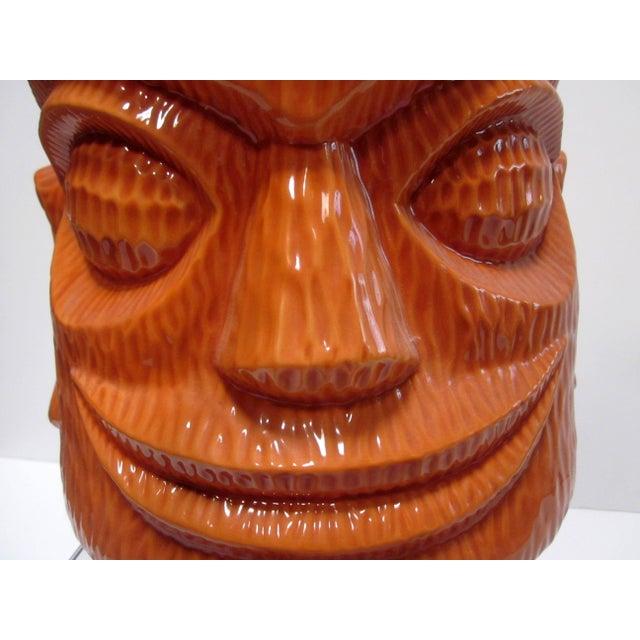 Large Tiki Cookie Jar - Image 5 of 8